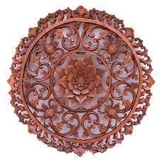 bali wood carving ornament