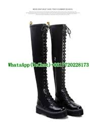 lace up motorcycle riding boots aliexpress com buy 2016 winter new women thigh high boots