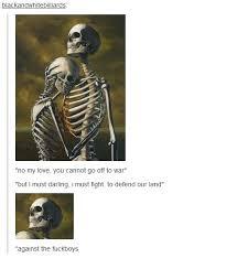 Skeleton Meme - some skeleton war memes