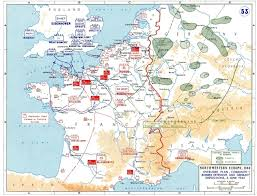 Germany Ww2 Map by Planning For Operation Overlord German Dispositions On June 6