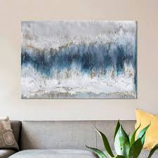 mistana u0027moon stone u0027 painting print on canvas u0026 reviews wayfair