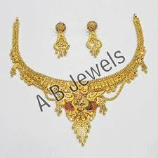 jewelry for new gold necklaces gold jadau necklace manufacturer from new delhi