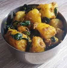 fenugrec cuisine aloo methi pommes de terre aux feuilles de fenugrec dans la
