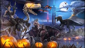 halloween theme background halloween theme soundtrack ark survival evolved 1 hour youtube