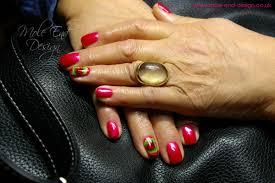christmas nails archives mole end design