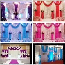wedding backdrop ebay 20x10ft stage wedding backdrop curtain background decor sparkly