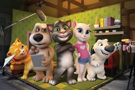 animated series talking tom and friends