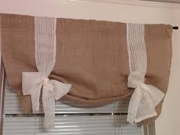 amazon com handmade tie up valance window treatment valance