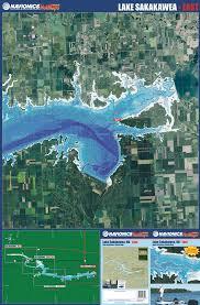 lake sakakawea map dakota lakes