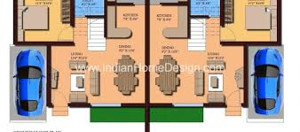 modern twin house plans of 1000 sqft 3 bedroom home contemporary