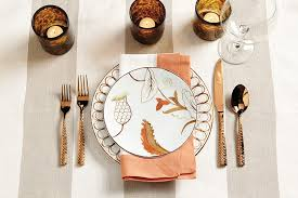 Design For Copper Flatware Ideas Place Setting Inspiration How To Decorate