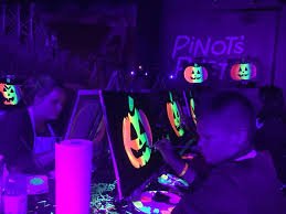 black light party clothes halloween black light painting party pinot s palette