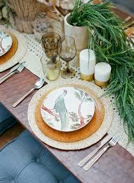 plates for wedding southwestern desert wedding ideas ruffled