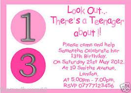 girls 13th birthday invitations choice image invitation design ideas