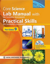 buy core science lab manual with practical skills as per cce ix