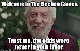 Hunger Games Meme - the american hunger games candidates killing each other for