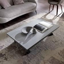 convertible coffee tables arredaclick icaro convertible coffee table with ceramic top arredaclick