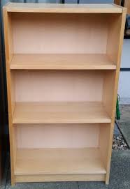 ikea billy bookcase birch colour 106 x 60 x 28cm in good