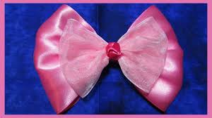 pink hair bow diy how to make a hair bow no 5 free tutorial large 5inch pink