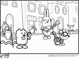 wow wow wubbzy printable coloring page coloring home
