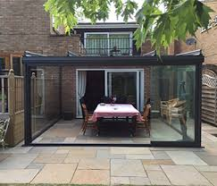 Outdoor Glass Patio Rooms - outdoor room northamptonshire samson awnings