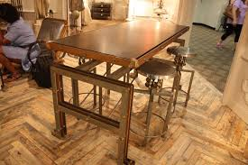 Steampunk Furniture Steampunk Softens The Look Of Industrial Style Decor