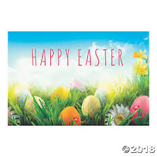 easter backdrops easter plastic backdrop