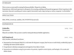 Free Basic Resume Builder Simple Resume Builder Free Resume Template And Professional Resume