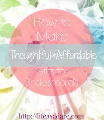 diy cheap bridesmaids gifts
