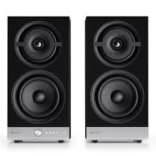 home theater systems with wireless rear speakers raumfeld stereo m wireless streaming bookshelf speakers pair