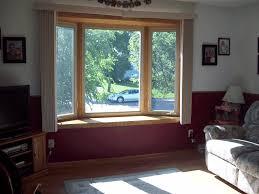 kitchen bay window curtain ideas window treatment ideas for bay windows with window seat saomc co