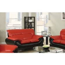 Contemporary Leather Loveseat Leather Love Seat Decordells