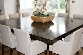 12 Seater Oak Dining Table Photo Alluring 10 Seater Extending Dining Table 12 Person