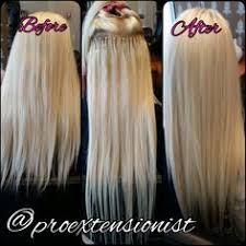 hairstyles for bead extensions how to apply with micro loop hair extension beauty diy