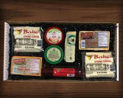 Cheese Gift Box Wisconsin String Cheese Store Baker Cheese