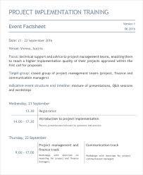 Event Fact Sheet Template Fact Sheet Template 10 Free Sle Exle Format Free