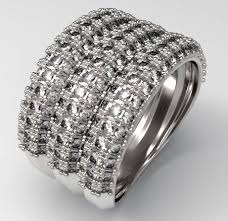 pave 3d models 3d pave pave ring 3d print model cgtrader
