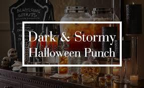 dark u0026 stormy halloween punch pottery barn