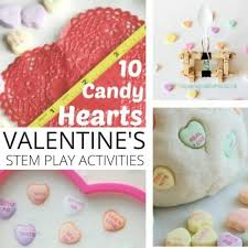 s candy hearts candy hearts activities and science ideas for s days