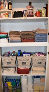 Linen Closet How To Organize The Linen Closet Farm Reformed