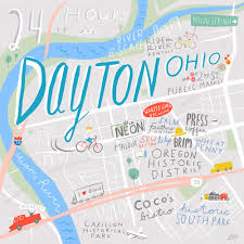 dayton map 24 hours in dayton oh with bethany and design sponge
