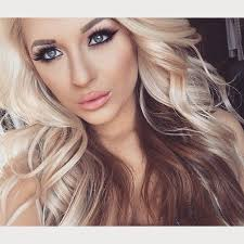 best 25 blonde hair with brown underneath ideas on pinterest