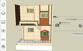 house bungalow sketch up