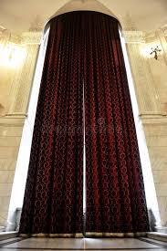 Big Window Curtains Big Window Curtains Stock Photo Image Of Transparent 46714362