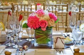 modern style spring wedding decorations with spring wedding