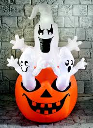 halloween inflatable ghost fun halloween ghosts and pumpkin inflatable perfect for parties