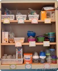 How To Organize A Kitchen Cabinet - best 25 organizing baby stuff ideas on pinterest baby storage