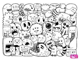 25 doodle monster ideas monster drawing