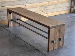 Settee Bench With Storage by Furniture Awesome Entryway Settee Bench Front Door Shoe Bench