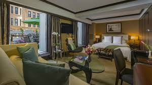 luxury manhattan hotel the chatwal a luxury collection hotel junior suite king with terrace